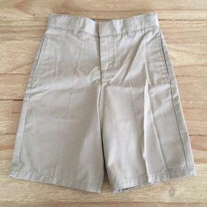 French Toast Bermuda Shorts School Uniform Flat